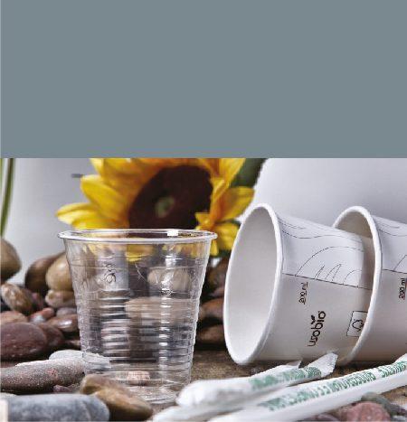 Bicchieri PLA e Cartoncino